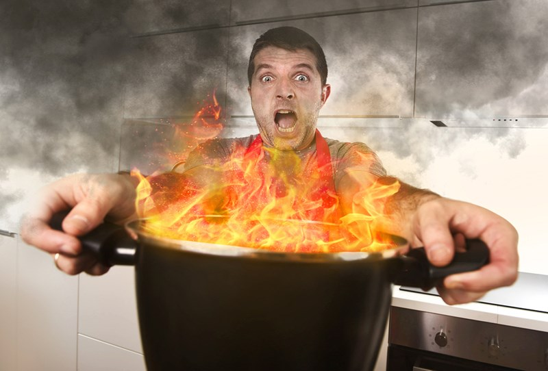 How to Get Rid of the Burnt Smell After a Kitchen Accident